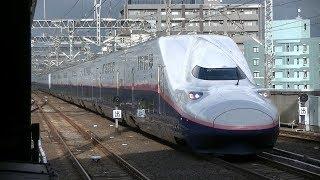夕刻の新潟駅、上越新幹線(170912)