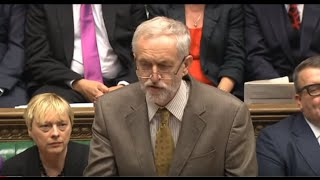 Jeremy Corbyn's first PMQs as Leader of the Opposition: 16 September 2015