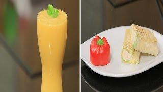اصابع الدجاج بالاناناس - عصير ليمون بالخوخ | سندوتش وحاجة ساقعة حلقة كاملة