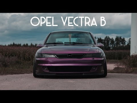 STANCED OPEL VECTRA
