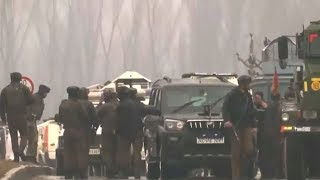 Blast strikes Indian military convoy in Kashmir