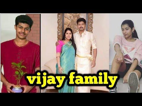 Actor Vijay REAL family UNSEEN photos