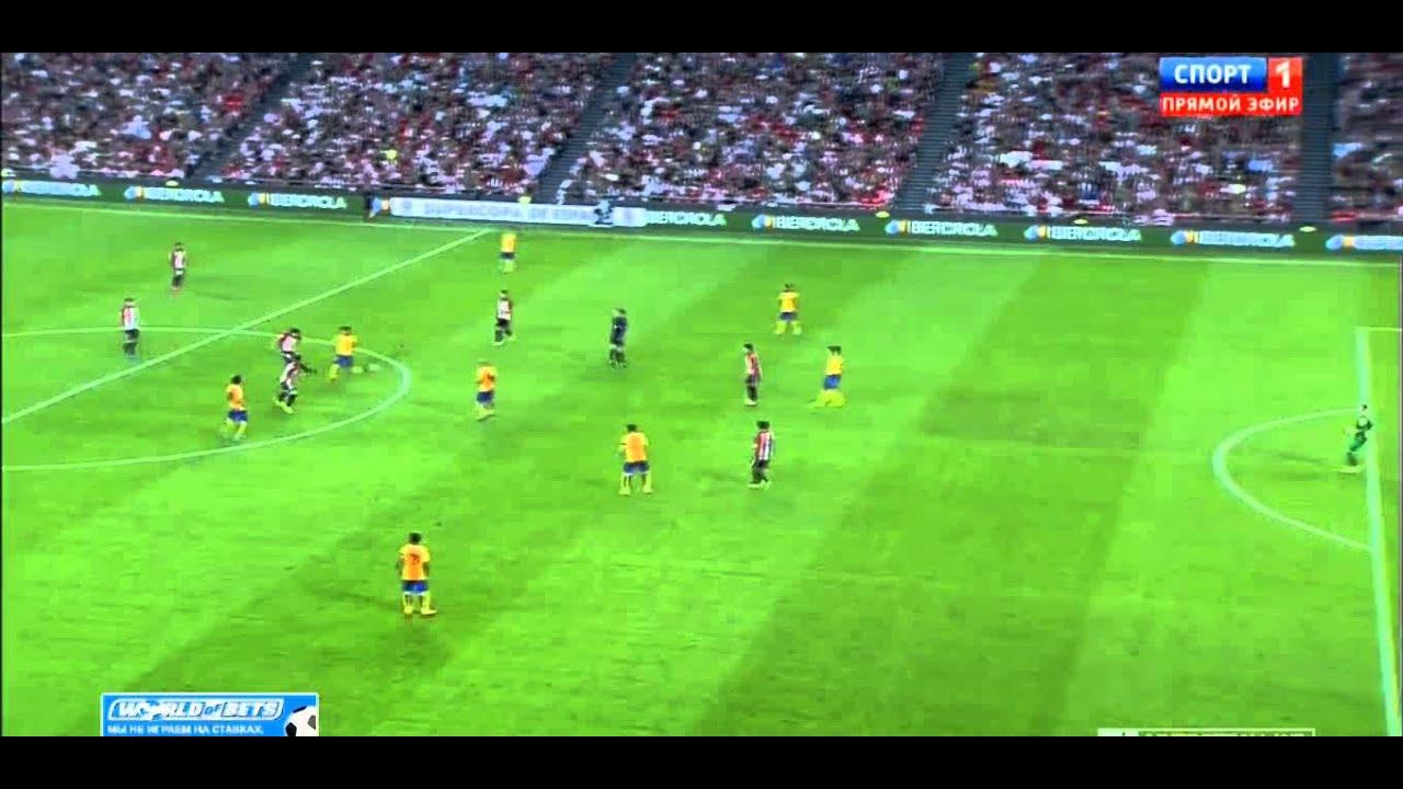 Атлетик– Барселона: Атлетик Бильбао 0-1/Гол Сан Хосе