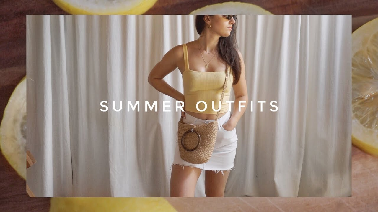 [VIDEO] - SUMMER VACATION OUTFITS 2018 3