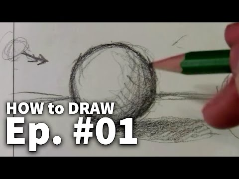 Learn To Draw #01 - Sketching Basics + Materials