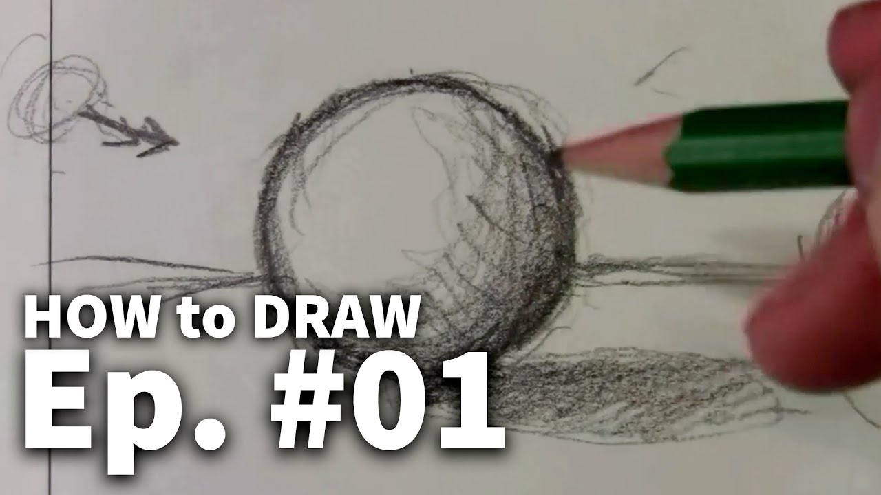 Learn to draw 01 sketching basics materials youtube for Learning to paint and draw