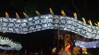 古來洪仙大帝體育會2018創意龍 晶鱗龍