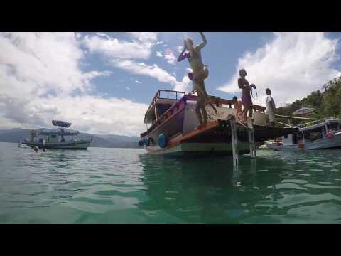 A day on a boat - Paraty, Brazil