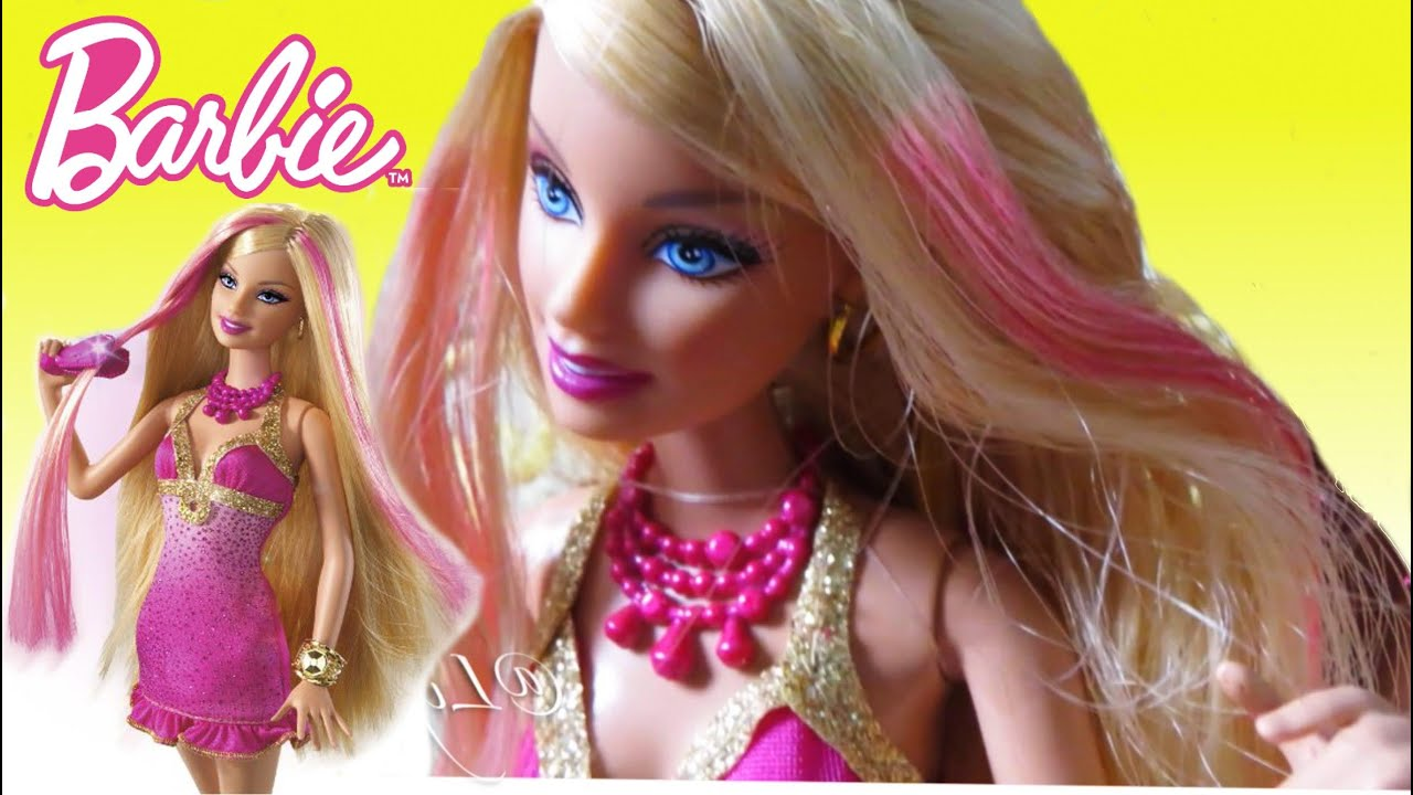 Mainan Anak Boneka Barbie Hair Salon Color change Barbie  LifiaTubeHD d0c8cc428e