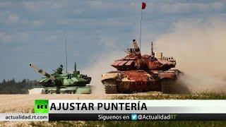 Rusia gana el biatlón de tanques en el marco de los juegos militares