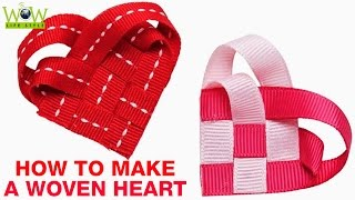 How to Make a Woven Heart For Valentine's Day | Best Scrapbook Ideas | Do It Yourself at Home