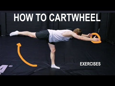 How To Learn Your First Cartwheel (Beginner Exercises/Progressions/Technique)