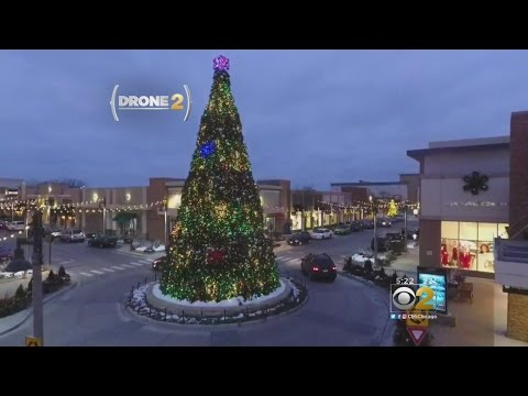 Drone 2: Christmas Shopping In Bolingbrook