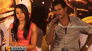 Vishal and Trisha Chat With Press