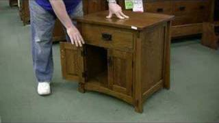 Amish Wood Night Stand