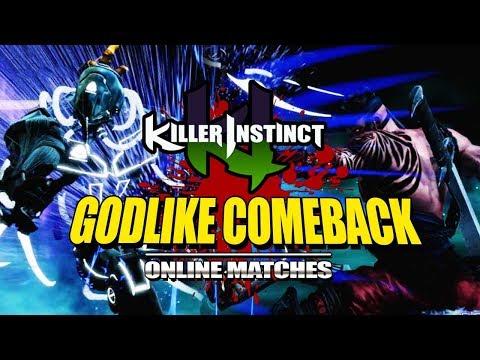 GODLIKE COMEBACK: Killer Instinct - Online Ranked Matches