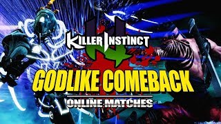 GODLIKE COMEBACK: Killer Instinct - Online Ranked Matches