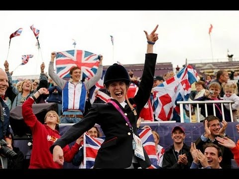 Equestrian highlights - London 2012 Paralympic Games
