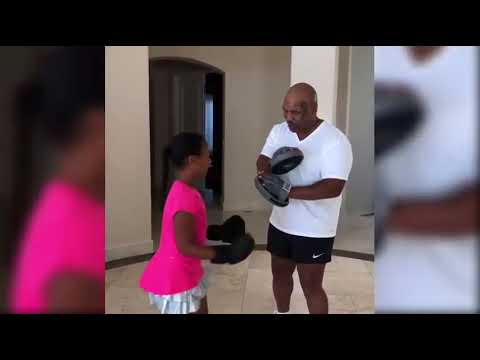 Mike Tyson Training His Son  and  Daughter  to box 2018