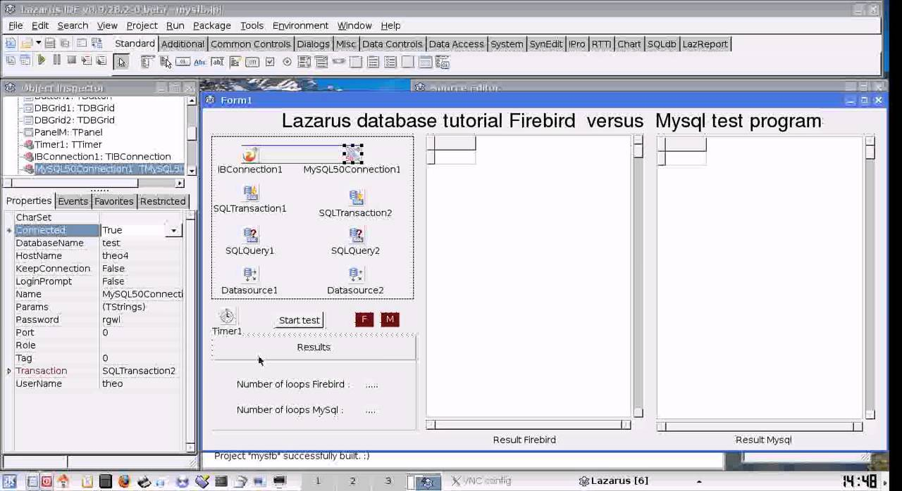 Lazarus SQL database tutorial 2