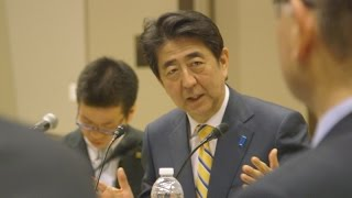 Japanese prime minister touts innovation links to Stanford, Silicon Valley