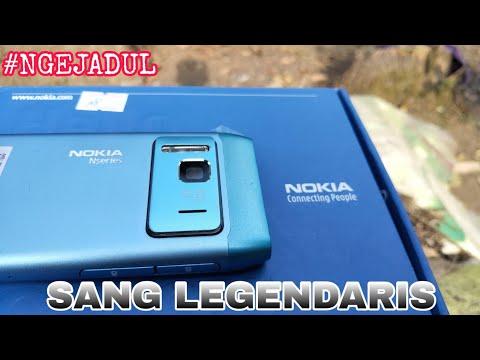 Beli HP Nokia OS Symbian di 2020 - Unboxing Nokia 5233 5230 Harga 100 Ribuan.