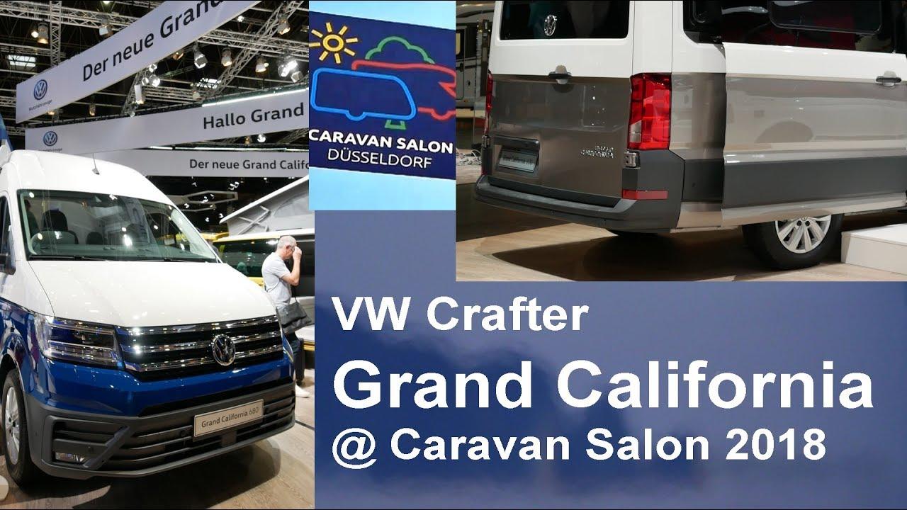 8e0205b294 VW Grand California 600 680 Caravan Salon Düsseldorf 2018 World ...
