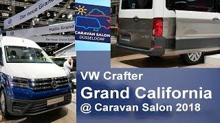 VW Grand California 600 680 Caravan Salon Düsseldorf 2018 World Premiere Volkswagen Crafter T6