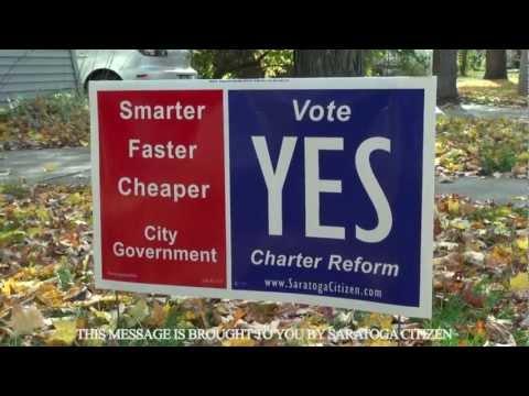 """""""I'm Voting Yes!"""" Saratoga Citizen Campaign Ad 2012"""