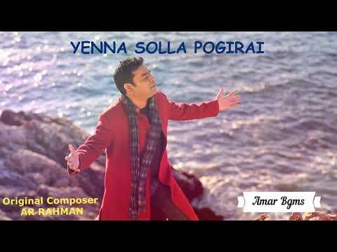 Enna Solla Pogirai Instrumental Music/Kandukondean Kandukodean/Thala Ajith/AR Rahman
