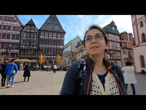 Frankfurt Vlog | Frankfurt'u Geziyoruz  | Şehri Adım Adım Yürüdük (w Eng Sub)