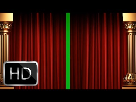Green Screen Curtain Intro Premium Full HD 1920x1080px! en streaming