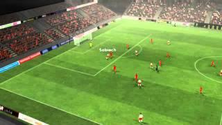 Polska vs Gruzja - Sobiech Goal 67 minutes.ogv