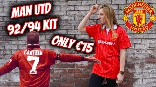 Manchester United 92/94 Kit only €15 - Fa Cup Final | FOOTBALL SHIRT FRIDAY