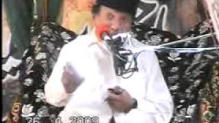ALLAMA ABDUL HAKEEM TERABI  26TH APRIL 2009 MASJID KABOTERAN WALI SIALKOT