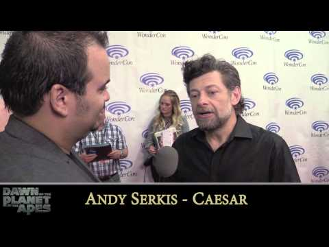 Dawn Of The Planet Of The Apes Interviews - Keri Russell, Andy Serkis, Matt Reeves