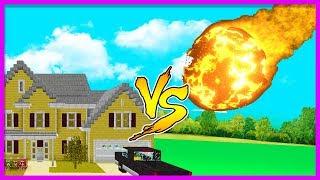 Minecraft - METEOR VS BASE CHALLENGE