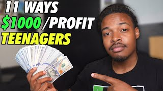 11 ways to make money as a teenager
