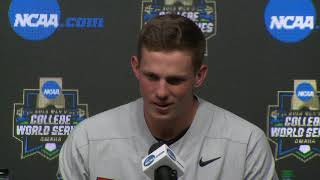2018 College World Series - CWS Game 13 Press Conference (Oregon State)