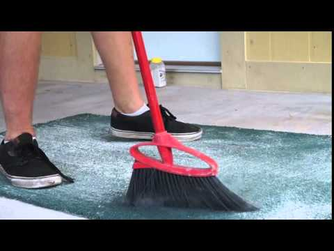Dust Your Carpets With Diatomaceous Earth (to remove fleas)