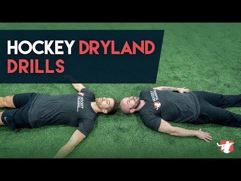 HOCKEY DRYLAND TRAINING DRILLS  🏒