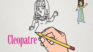 Apprendre à dessiner Cléopâtre | Tutoriel