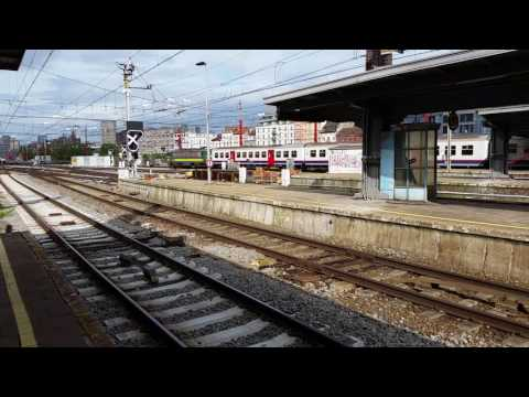 SNCB Class 21 No. 2134 Departing From Brussels Midi on 30/06/16