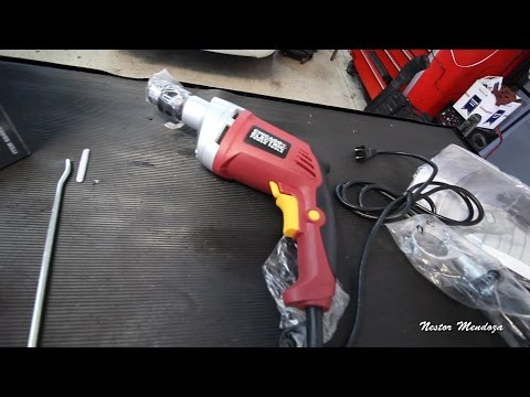 Harbor Freight Hammer Drill 60495 Review Shop Vlog