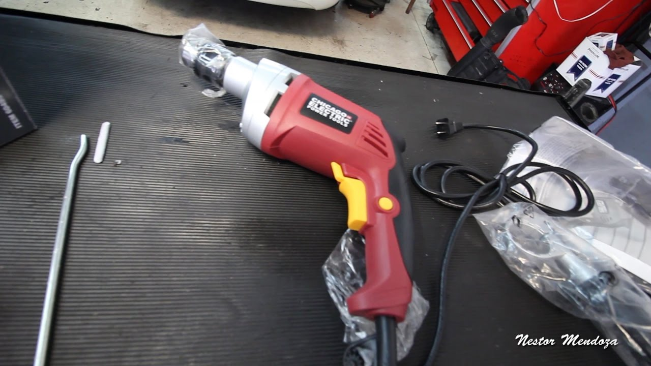 harbor freight hammer drill. harbor freight hammer drill 60495 review shop vlog l