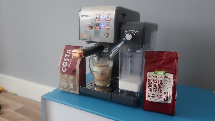 Breville One Touch Coffee Machine Easy Way To Make Barista Coffee At Home Youtube
