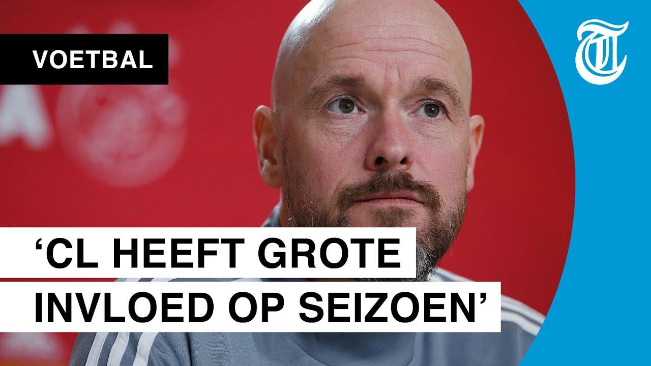 Ten Hag: 'Ajax zowel in CL als Eredivisie benadeeld'