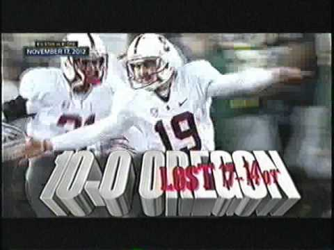 2014 - (9) Oregon vs Stanford  (1st Half)