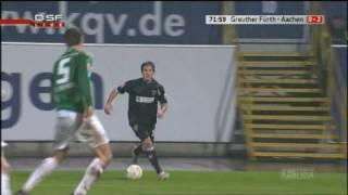 Greuther Fürth- Alemannia Aachen  0:2 Benjamin Auer