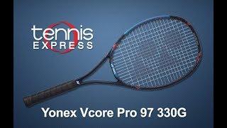 Yonex Vcore Pro 97 330 Tennis Racquet Review  |  Tennis Express